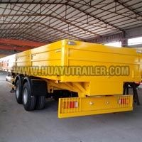 Wall Side Semi Trailer