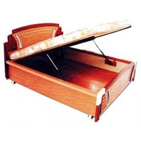 Wooden Bed (HP - 008)