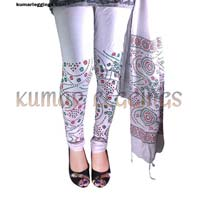 Block Printed Leggings & Dupatta 05