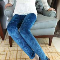 Embossed Leggings