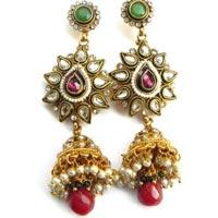Kundan Earrings (wje6119)