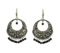 Oxidised Earrings (WJE5501_1)