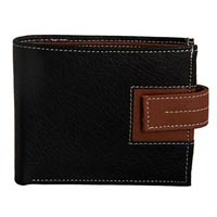 Leather Mens Wallet (1419 blk)
