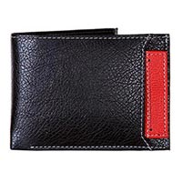 Leather Mens Wallet (1420 - Red)