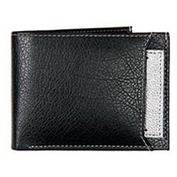 Leather Mens Wallet (1420 - Silver)