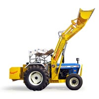 Tractor Mounted Sand & Stone Loader