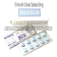 Malegra 50mg Tablets