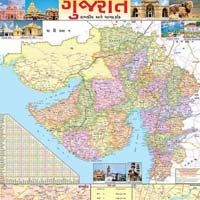 20x30 Gujarat Maps