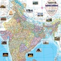 22x28 India Maps