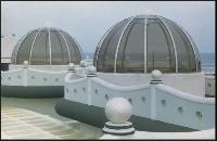 Round Polycarbonate Domes 06