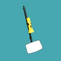 Telescopic Extension Search Mirror