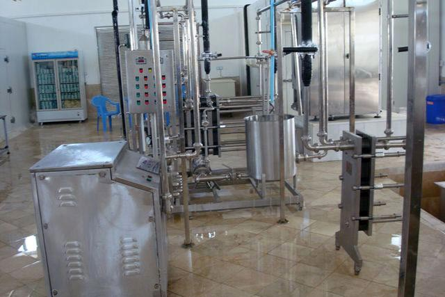 Liquid Milk Processing Plant 02