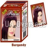 Hair Color Burgundy