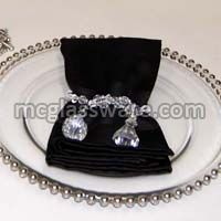 Wedding Glass Charger Plates