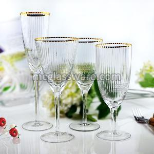 Bushy Edge Wine Goblets 01