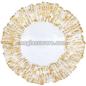 13 Inch Glass Charger Plates