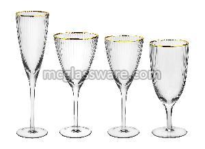 Bushy Edge Wine Goblets 02