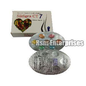 Sildigra CT 7 Chewable Tablets