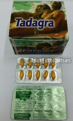 Tadagra Softgel 20 mg Capsules