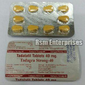 Tadagra Strong 40 mg Tablets