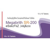 Megabrith SR-200 Tablets