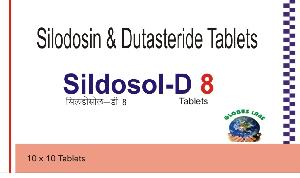Sildosol-D 8 Tablets