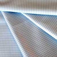 Anti Static Fabric Check Grid Design