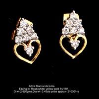 Diamond Earrings(ATER-AR154)