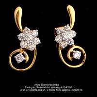 Diamond Earrings(ATER-AR155)