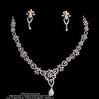 Diamond Necklace Sets(ATNKS-CD45)
