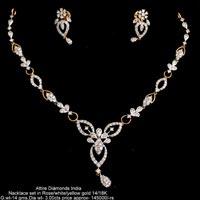 Diamond Necklace Sets(ATNKS-CD46)