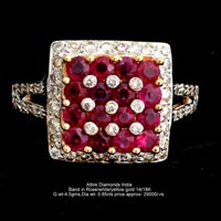 Ladies Colored Diamond Rings(ATLR-AR05)
