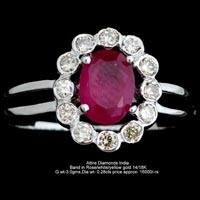 Ladies Colored Diamond Rings(ATLR-AR34)