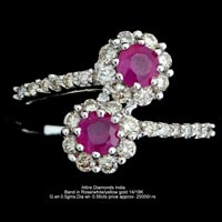 Ladies Colored Diamond Rings(ATLR-AR54)