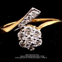 Ladies Light Weight Diamond Rings(ATLR-TP392)