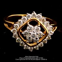 Ladies Traditional Diamond Rings(ATLR-TP475)