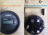 Digital Hourmeter 52mm (Plastic)