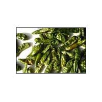 Dried Green Chilli