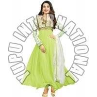 Karshma Kapoor In Green Anarkali