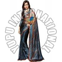 Neha Sharma Printed Saree
