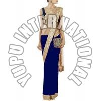 Manish Malhotra Designer Blue Saree