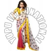 Bollywood Printed Saree Kangana Ranaut