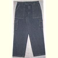 Denim Cargo Trouser