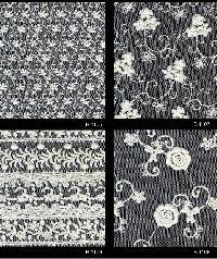 Schiffli Embroidered Fabric 02