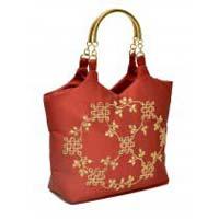 Rangoli Metal Handle Bag