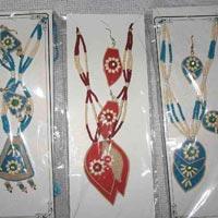 Jute Necklace Set