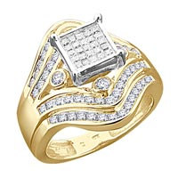Diamond Semi Mount Rings