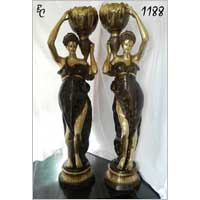 Brass European Figures 01