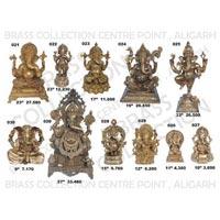 Brass Ganesh Statues 02