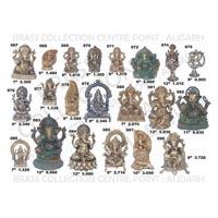 Brass Ganesh Statues 05